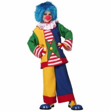Clown carnavalskleding voor kinderen