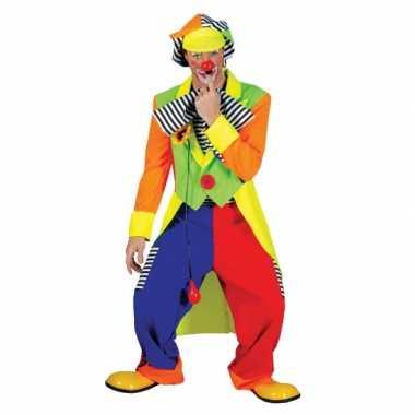 Clown carnavalskleding voor mannen