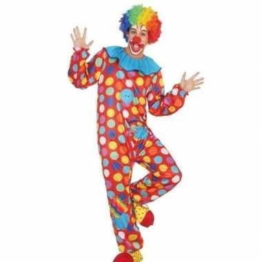 Clown pak/carnavalskleding voor heren