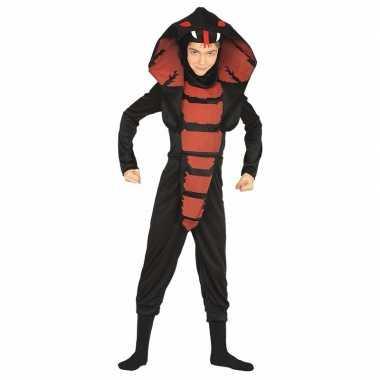 Cobra ninja slangen carnavalskleding voor jongens