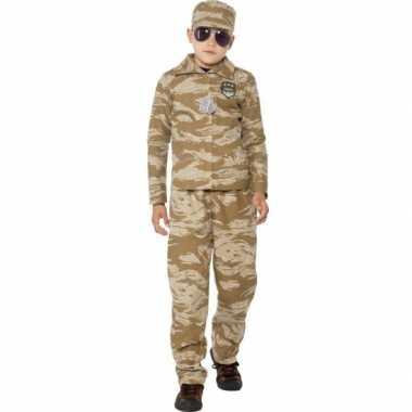Commando carnavalskleding voor jongens