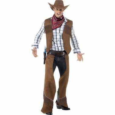Cowboy carnavalskleding voor heren