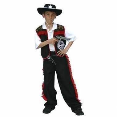 Cowboy carnavalskleding voor jongens