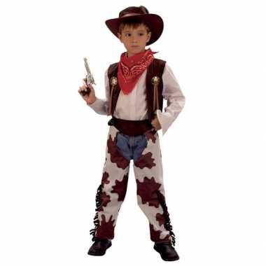 Cowboy carnavalskleding voor kinderen