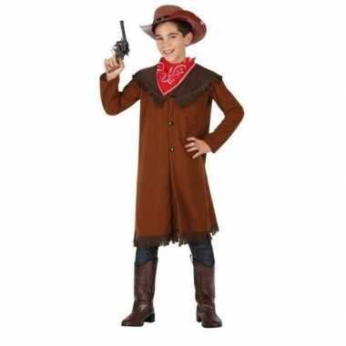 Cowboy john carnavalskleding voor jongens