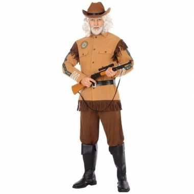 Cowboy/western carnavalskleding wild bill voor heren