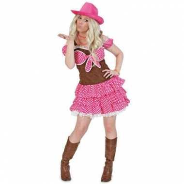 Cowgirl carnavalskleding dolly