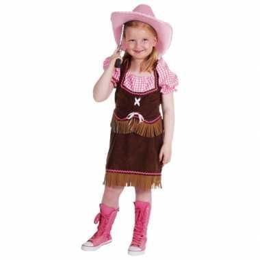 Cowgirl carnavalskleding meiden