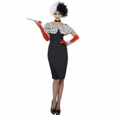 Cruella carnavalskleding voor dames