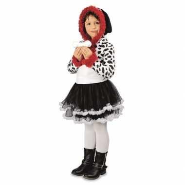 Dalmatier hond carnavalskleding voor meisjes