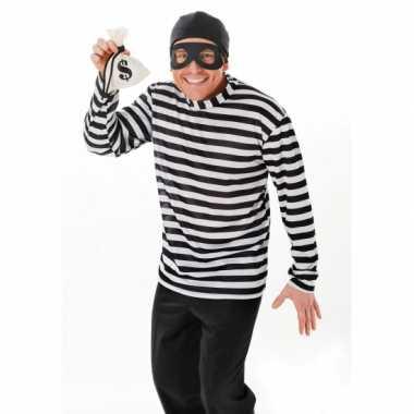Dief of inbrekers carnavalskleding