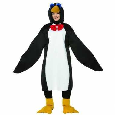 Dieren carnavalskleding pinguin volwassenen