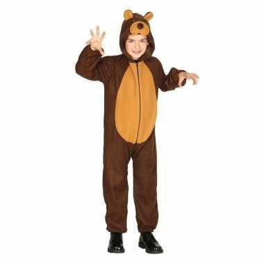 Dierenpak carnavalskleding beer voor kinderen