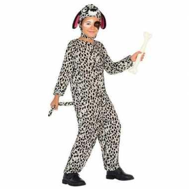 Dierenpak hond/honden carnavalskleding dalmatier voor kinderen
