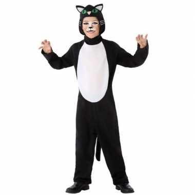 Dierenpak kat/poes carnavalskleding voor kinderen
