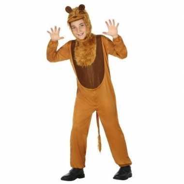 Dierenpak leeuw/leeuwen carnavalskleding voor kinderen