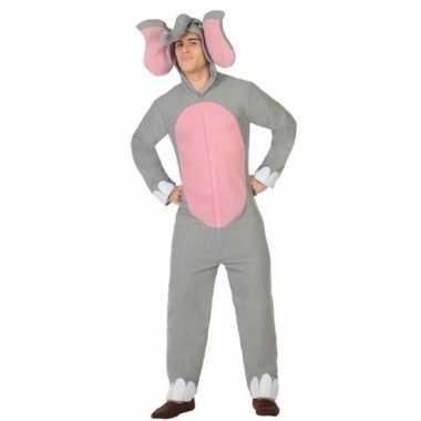 Dierenpak olifant carnavalskleding voor volwassenen