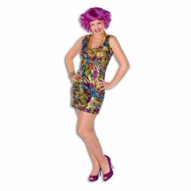 Disco carnavalskleding jurkje