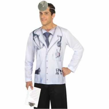 Dokter carnavalskleding voor heren
