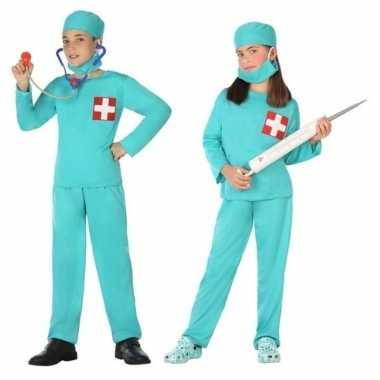 Dokter/chirurg carnavalskleding voor jongens en meisjes