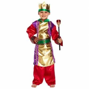 Drie koningen kerst carnavalskleding carnavalskleding voor jongens