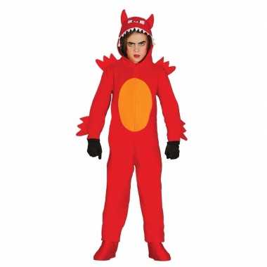Duivel monster carnavalskleding voor kinderen