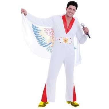 Elvis rockstar carnavalskleding voor heren