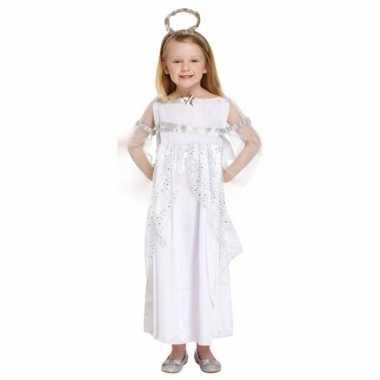 Engel kerst carnavalskleding carnavalskleding wit voor meisjes