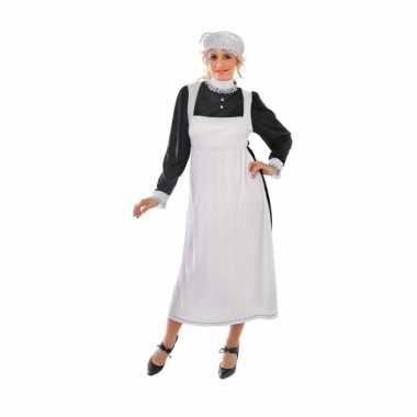Engels dienstmeisje carnavalskleding