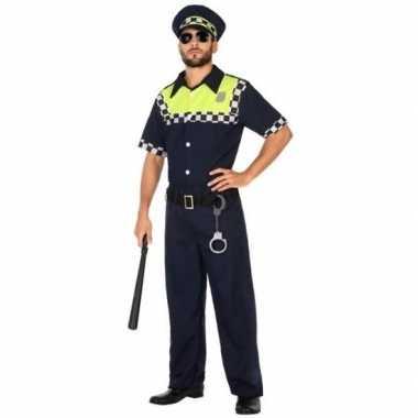 Engelse politie pak/carnavalskleding voor volwassenen