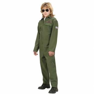 F 16 piloot carnavalskleding kinderen