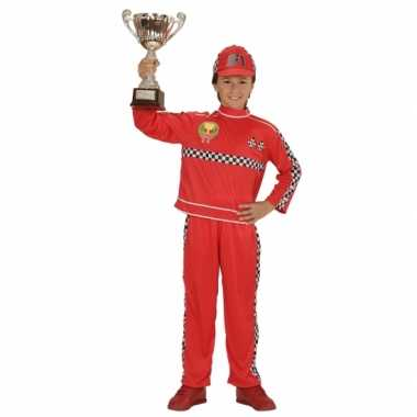 Formule 1 coureur carnavalskleding voor kinderen