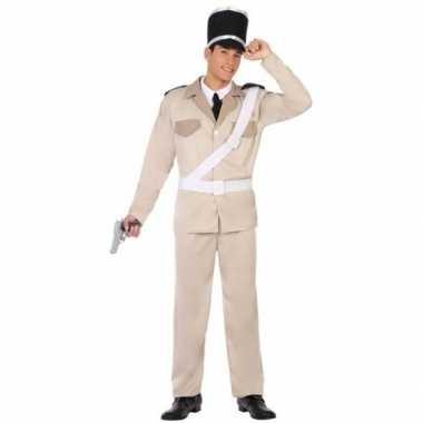 Franse gendarmerie/politie pak/carnavalskleding voor volwassenen