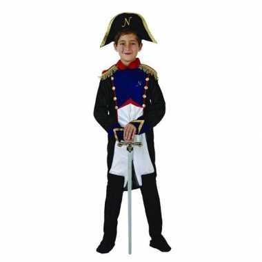 Franse generaal napoleon carnavalskleding voor jongens