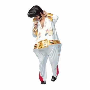 Fun dikke popster carnavalskleding voor heren