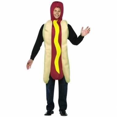 Funny carnavalskleding hot dog