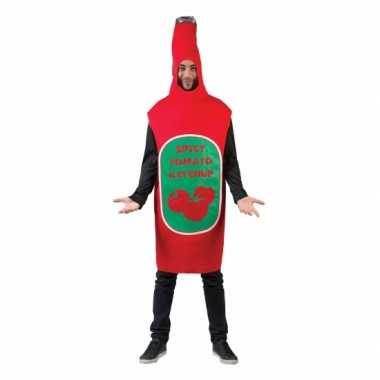 Funny carnavalskleding pak ketchup