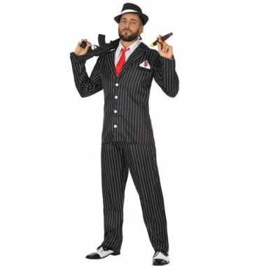 Gangster carnavalskleding voor heren