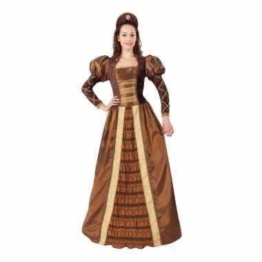 Geschiedenis middeleeuwse prinses damescarnavalskleding