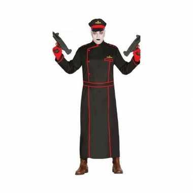 Gestapo carnavalskleding in het zwart