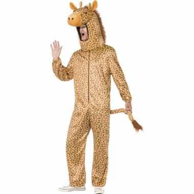 Giraffe carnavalskleding voor volwassenen