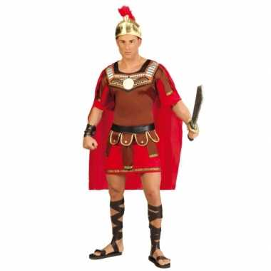 Gladiator carnavalskleding met helm voor heren