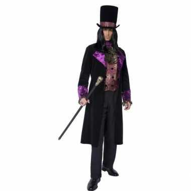 Gothic graaf carnavalskleding voor heren