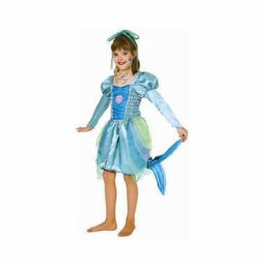 Groen zeemeermin carnavalskleding voor meisjes