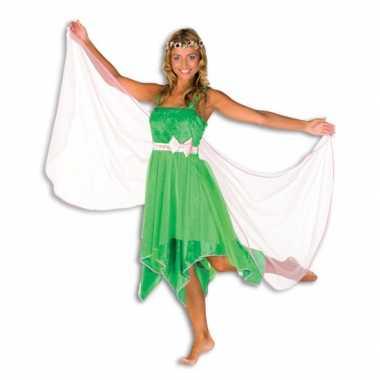 Groene elfen carnavalskleding dames