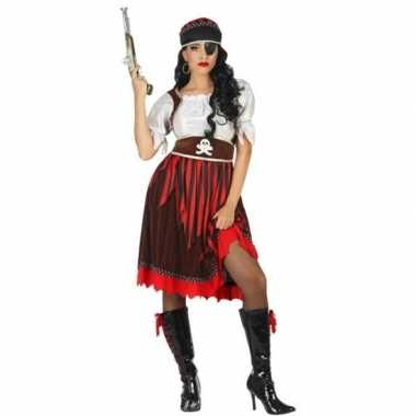 Grote maat piraat rachel pak/carnavalskleding voor dames