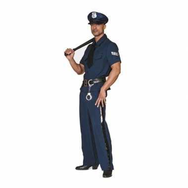 Grote maten politie carnavalskleding