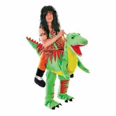 Hang carnavalskleding dinosaurus voor volwassenen