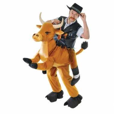 Hang carnavalskleding stier voor volwassenen