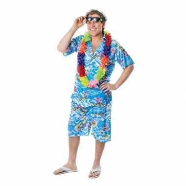Hawaii carnavalskleding voor heren